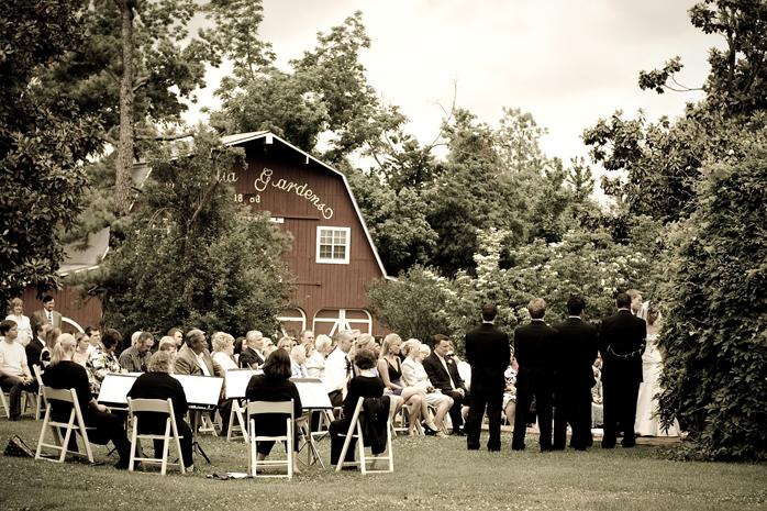 Magnolia Gardens Wedding Springdale Arkansas Aaron And Sheila